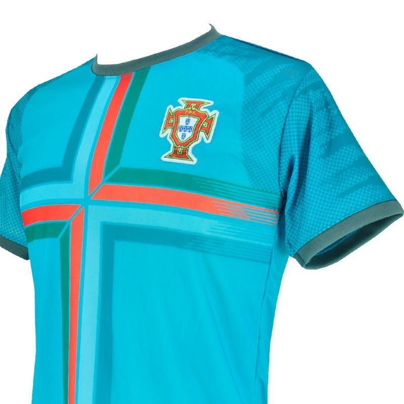 Camisa Treino Seleção Portugal 2018 Copa Russia Azul Ceu - R  27 871a693aaf540