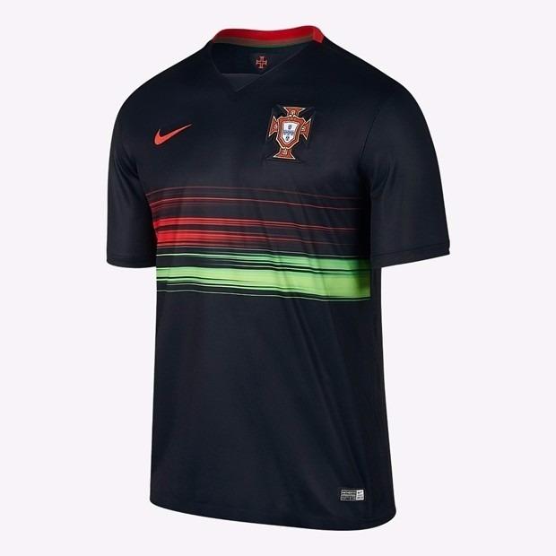 Camisa Seleção Portugal Uniforme 2 2015 Oficial Nike - R  199 b3e2788749729