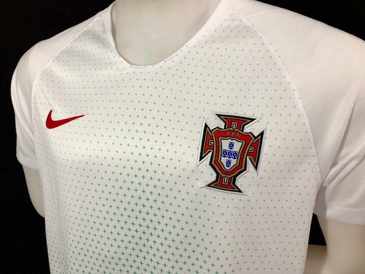 678878a437 Camisa Nike Seleção Portugal 2018 Oficial Copa Do Mundo Away - R ...