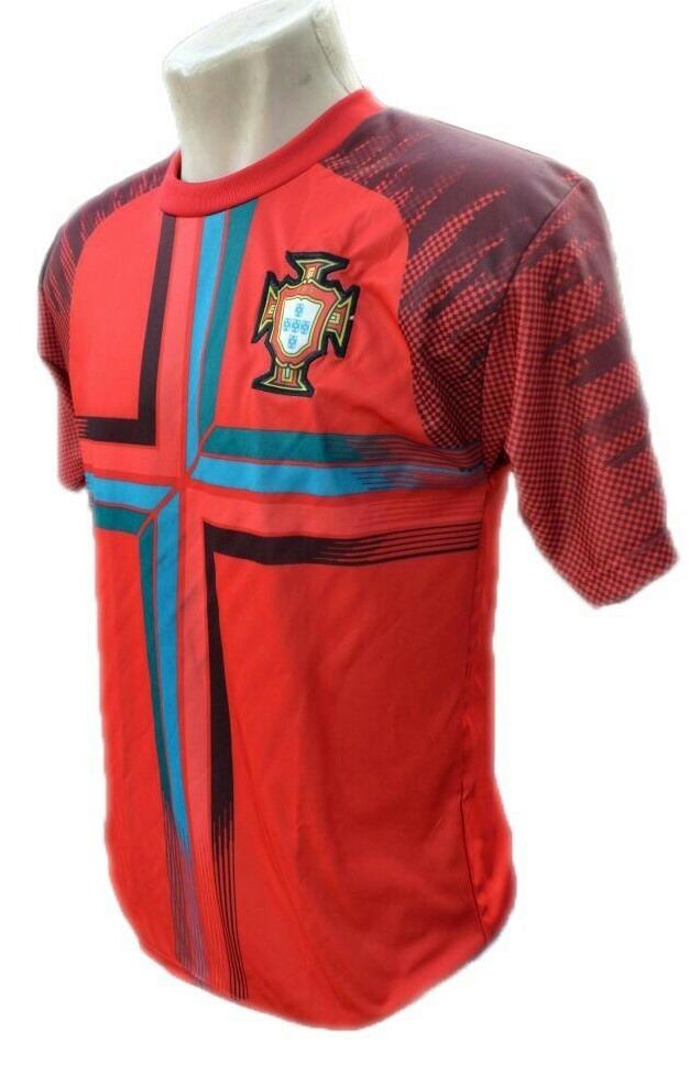 Camisa Seleção Do Portugal Bordado Barato Copa Do Mundo 2018 - R  19 ... 8b3a59b01fd71