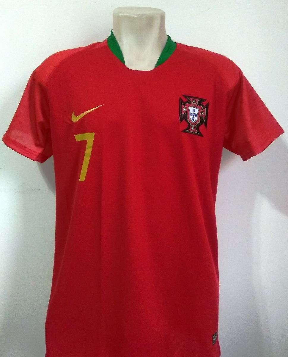 camisa seleção portugal home 2018 19 - cristiano ronaldo 7. Carregando zoom. 5544d8127e2a0