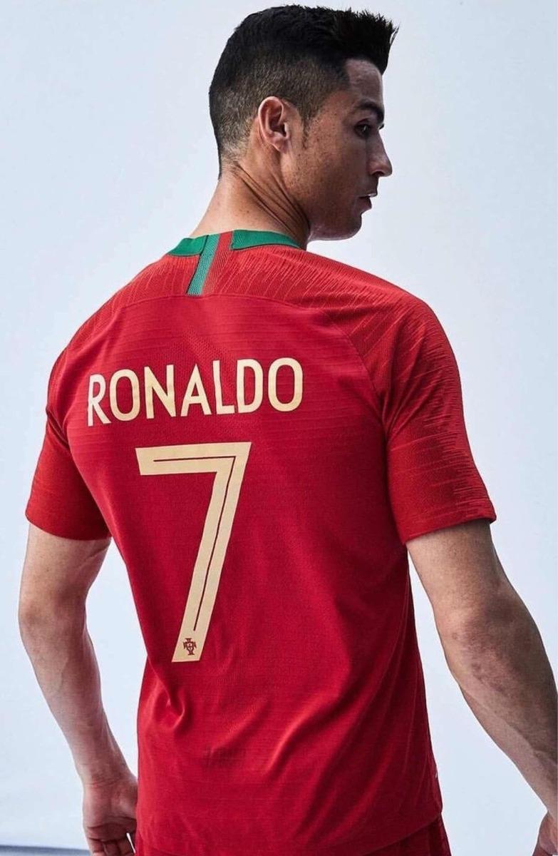 574d955dd7 camisa seleção portugal home nike 2018 (original) n7 ronaldo. Carregando  zoom.