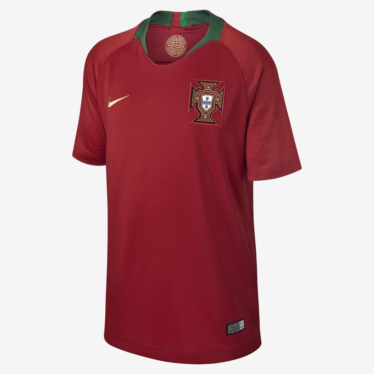 camisa seleção portugal nike 2018 oficial. Carregando zoom. c369dd5f0c6ef