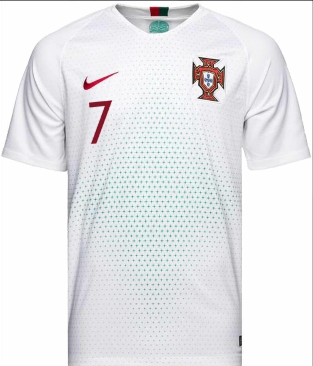 e7d3f93dd Camisa Seleção Portugal Original 2018 N7 Ronaldo P. Entrega - R$ 159 ...