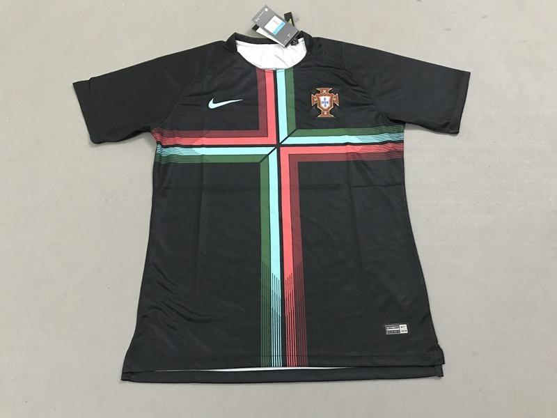 camisa seleção portugal treino nike dri-fit 2018. Carregando zoom. ea0388985088b