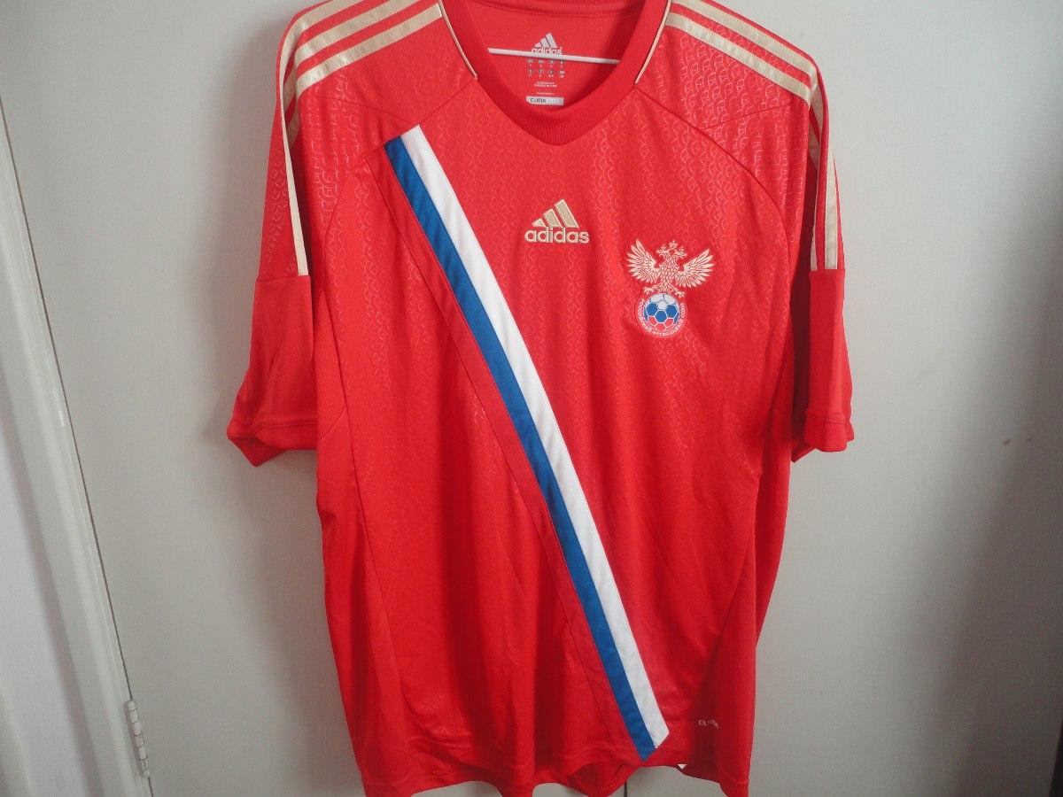 camisa seleção rússia 2013 futebol tamanho l adidas red. Carregando zoom. 50354944cd317