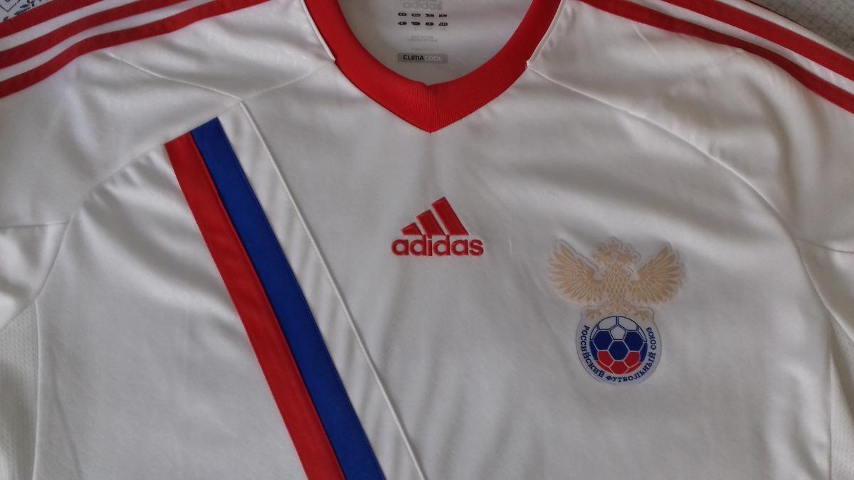 Camisa Seleção Rússia adidas Original Tam. G Copa Do Mundo - R  110 ... 7cf8e180b0838