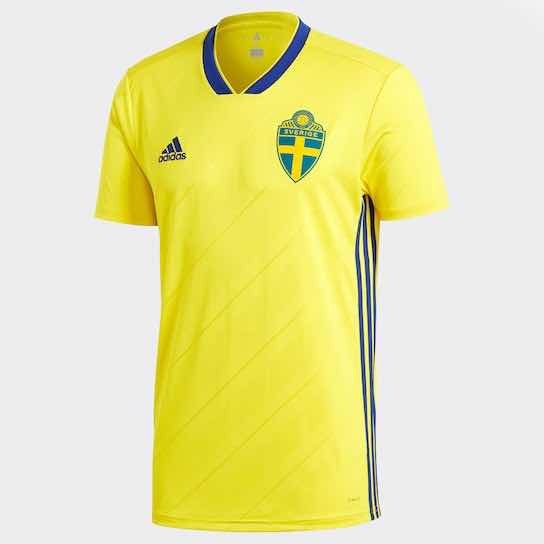 Camisa Seleção Suécia 2018 - Oficial - R  150 6042bfbbe704f