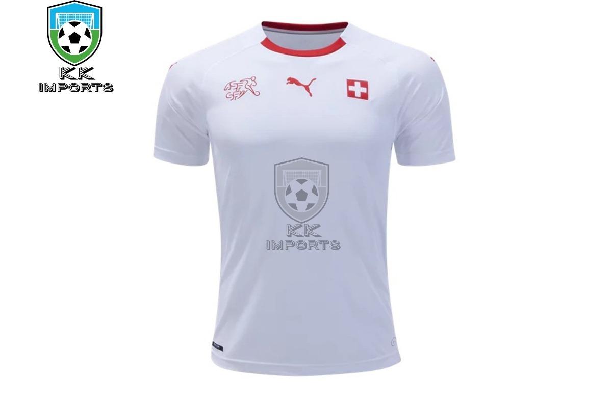 camisa seleção suiça 2018 uniforme 2 sob encomenda. Carregando zoom. a246e3dcb0576