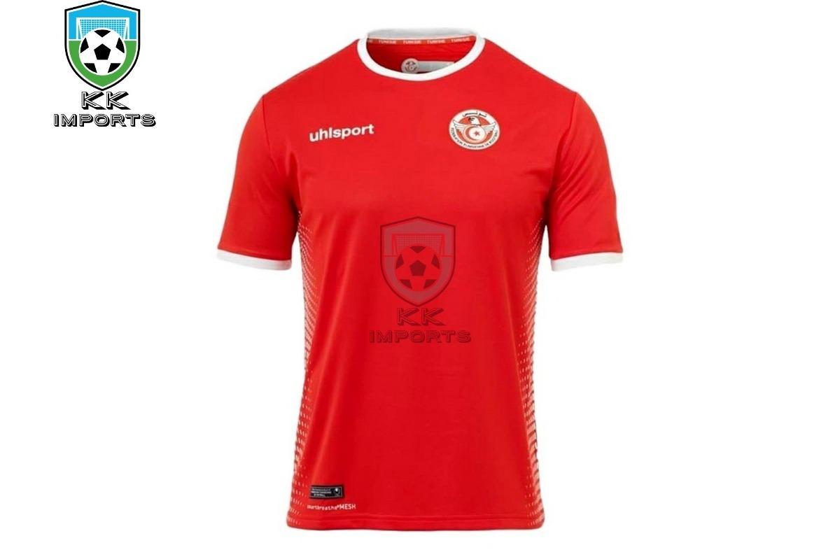 3b2543a2c28 camisa seleção tunísia 2018 uniforme 2 sob encomenda. Carregando zoom.