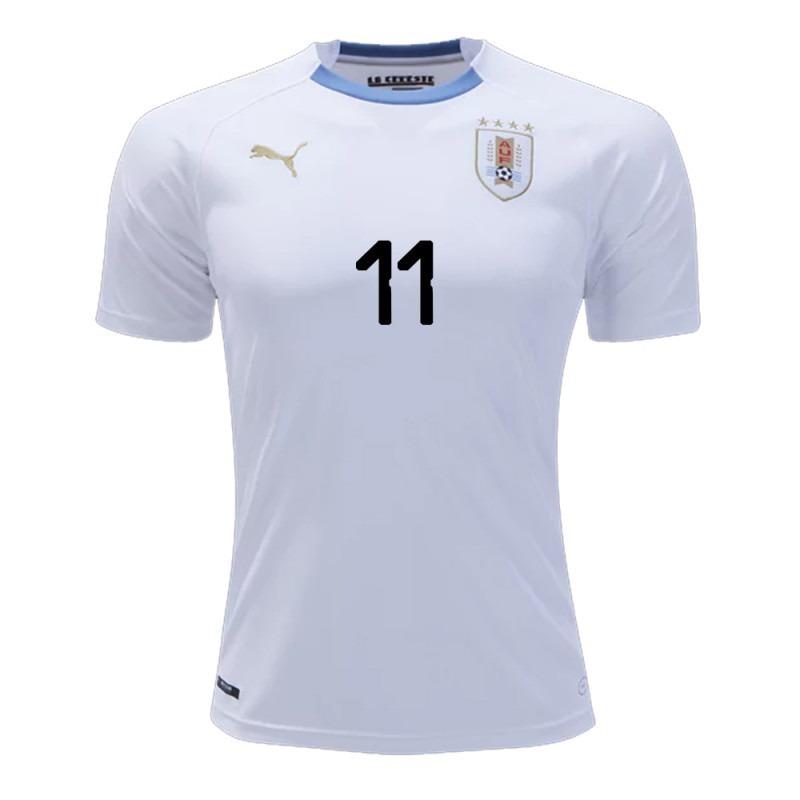 ... camisa seleção uruguai copa 2018 - uniforme 2 - frete grátis. Carregando  zoom. 3debbf17e672c