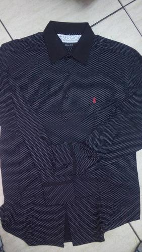 camisa sergio k original masculina slim lançamento