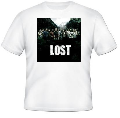 camisa serie lost