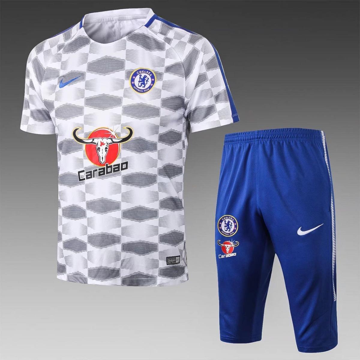 camisa + shorts chelsea oficial. Carregando zoom. 5889b53622ca1
