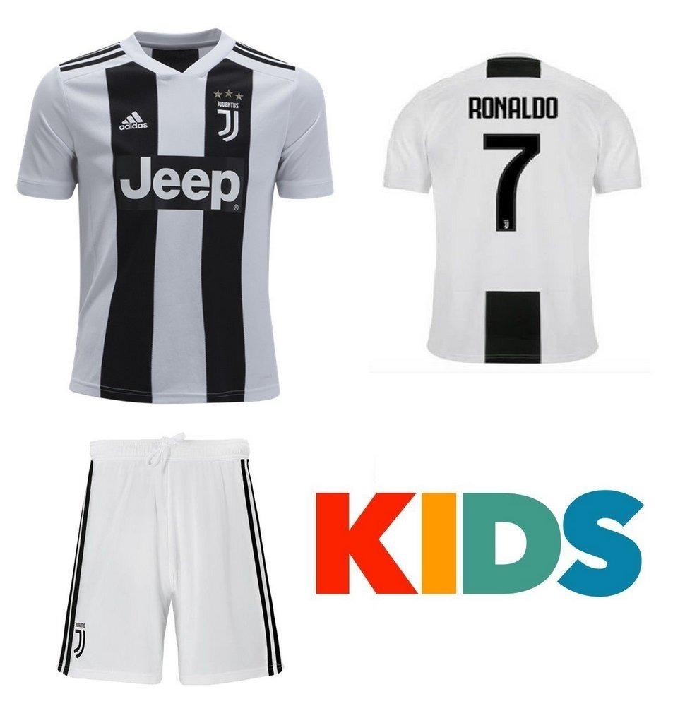 13c26688b camisa shorts infantil cr7 2018-19 juve imperdível. Carregando zoom.