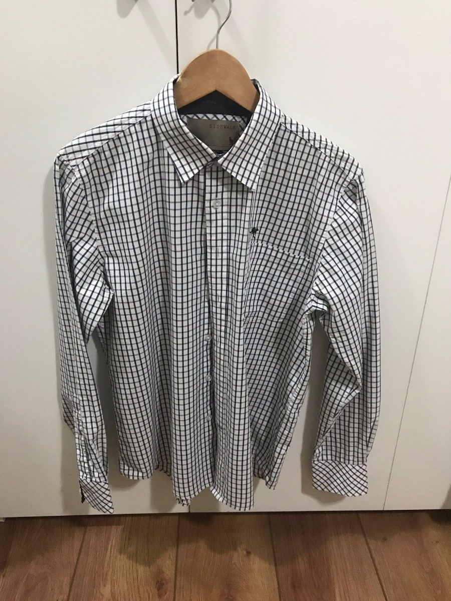 camisa side walk quadriculada xadrez - p. Carregando zoom. d023e3c80ab4f