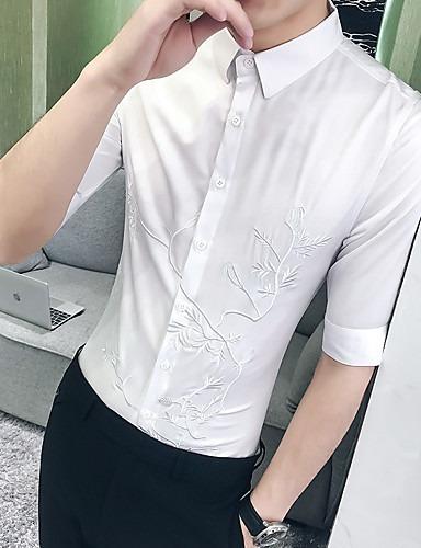 linda diseño innovador los Angeles Camisa Sin Cuello Moda Hombre Ropa Unica Envio Gratis