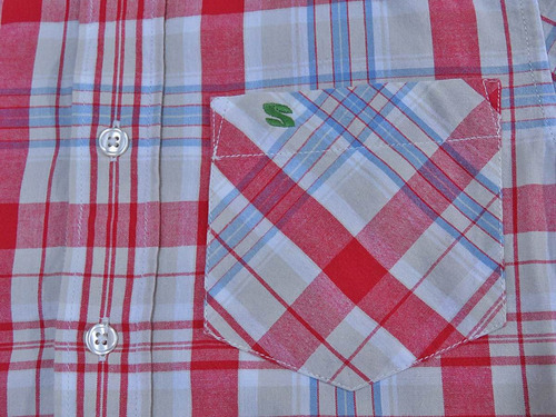 camisa skhuaban casual seminueva en oferta! gap #64