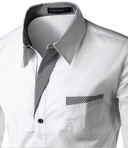 camisa slim fit hombre flip camiseta promoción
