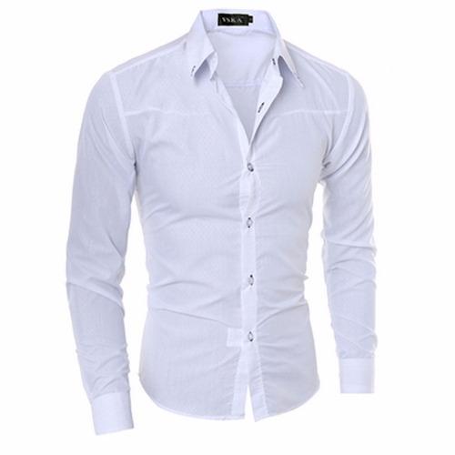 camisa slim fit masculina  a pronta entrega super promoção