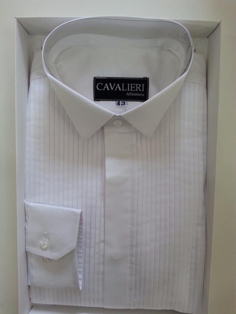 bdddb3e2c3c Camisa Slim Rigor Grátis Faixa Gravata Borboleta E Lenço - R  180