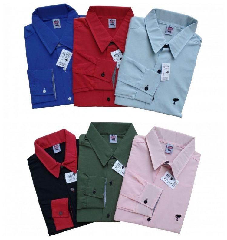 Camisa Slim Social Masculina Adulto Promoção - R  34 bf13a2fceb8