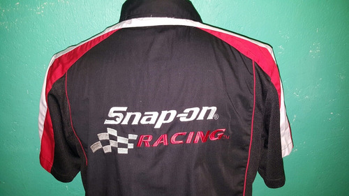 camisa snap-on racing 100% original(no dolce,armani,lacoste)
