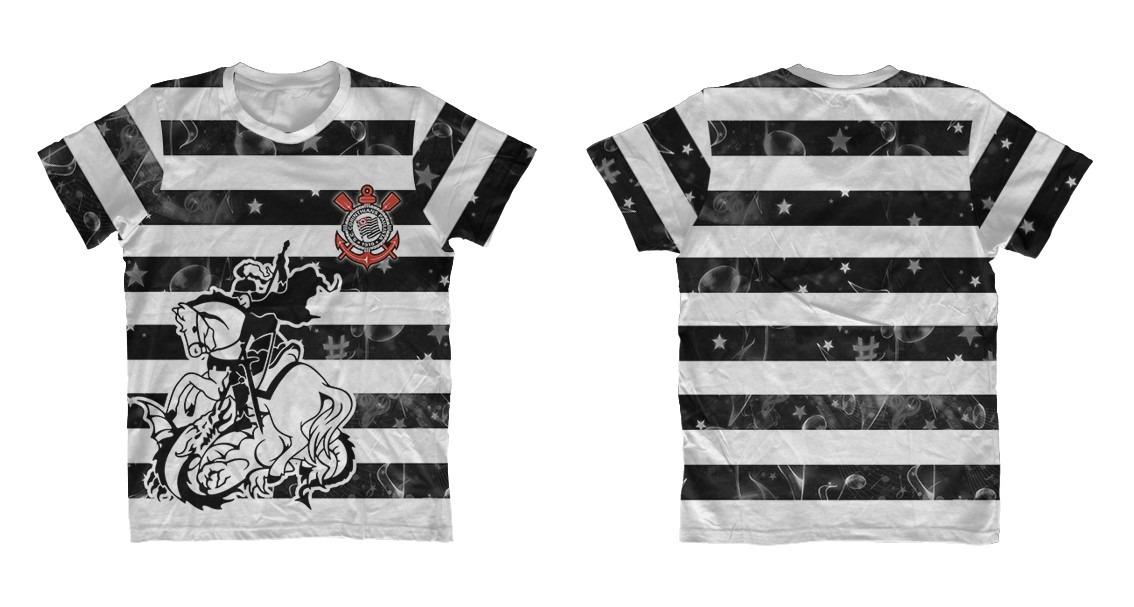 camisa são jorge - corinthians gaviões da fiel. Carregando zoom. 7d6c4101b2eb7