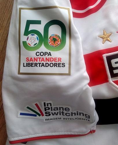 camisa são paulo, 2009, de jogo da libertadores - rara