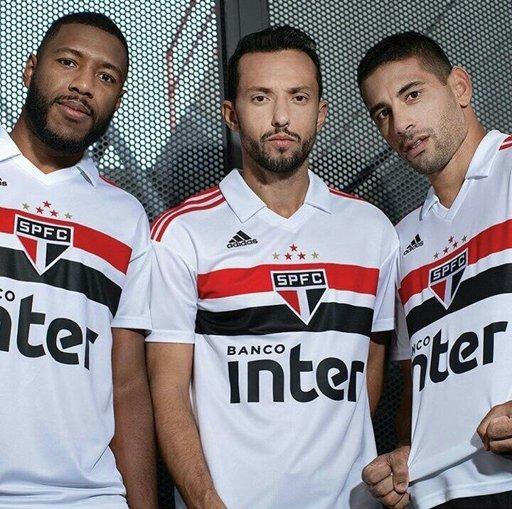 56b0841eee7 Camisa São Paulo 2018 S n° Oficial Torcedor adidas Masculina - R ...