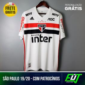 70ec50ad52eaf Camisa Sao Paulo Patrocinador Novo - Camisas de Futebol Club nacional para  Masculino São Paulo com Ofertas Incríveis no Mercado Livre Brasil