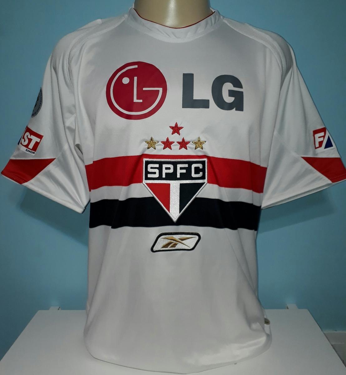 ... camisa são paulo campeão brasileiro 2006 2007 reebok - 10. Carregando  zoom. 2337c20fc7a3e