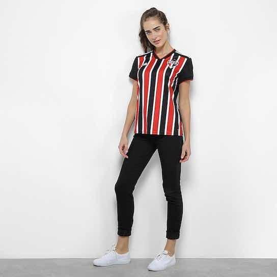 3b9c0519a Camisa São Paulo Ii 2018 S n° Torcedor adidas Feminina - R  179