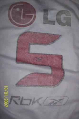 camisa são paulo  rebbok/06 n#5