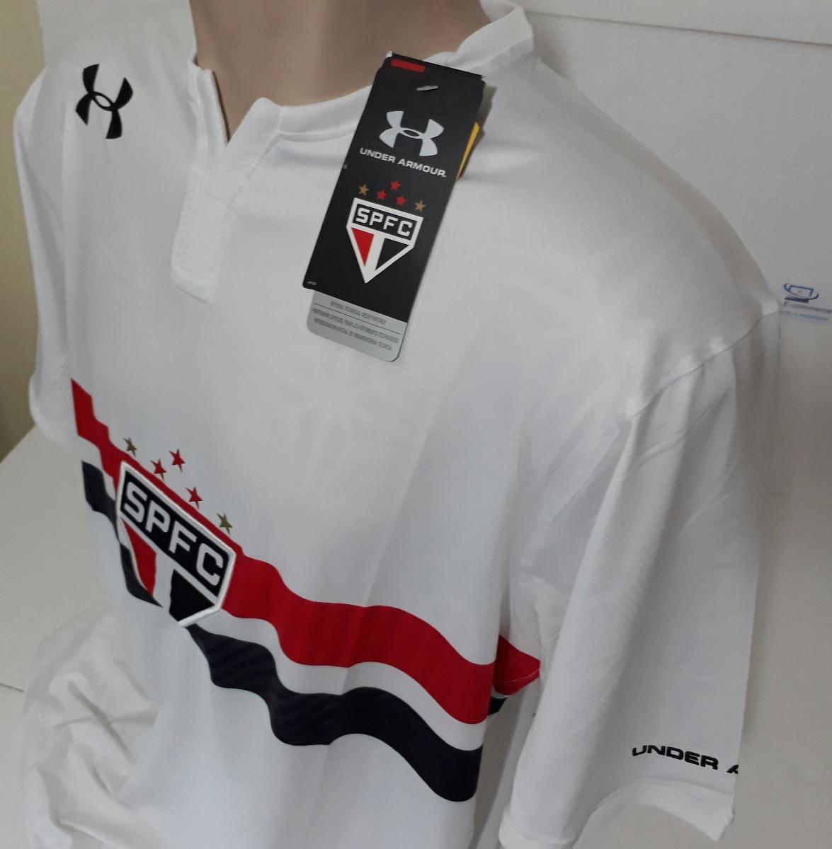 906bb65282a Camisa São Paulo Spfc - I Branca 17 18 Under Armor - R  134