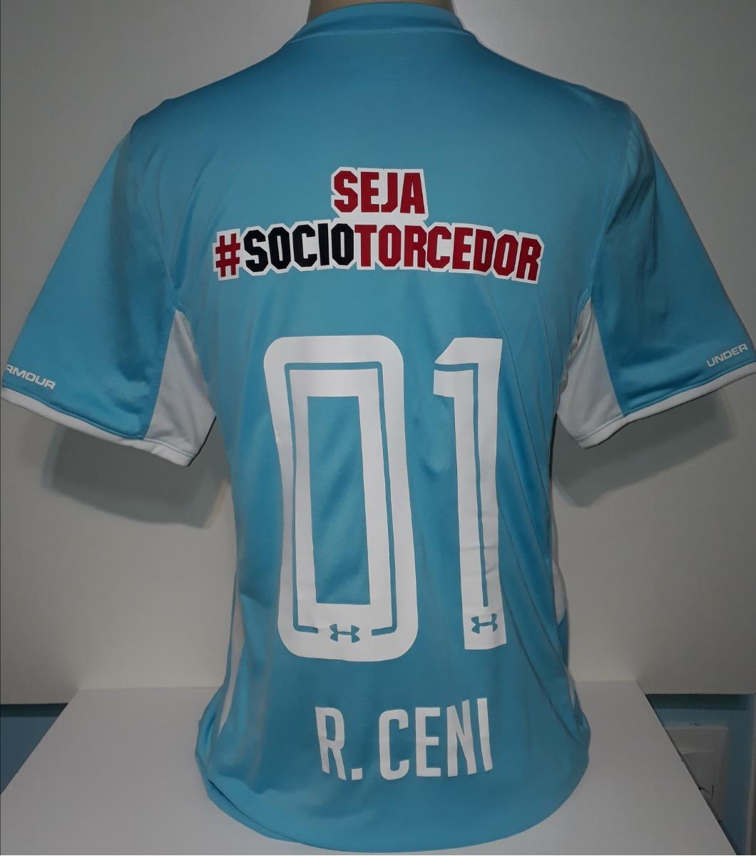 e4c22996993 camisa são paulo ultimo gol rogério ceni under armour - 19. Carregando zoom.