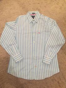 fe6cbef00b Camisa Social Com Desenho - Camisas Masculinas Listrado com o Melhores  Preços no Mercado Livre Brasil