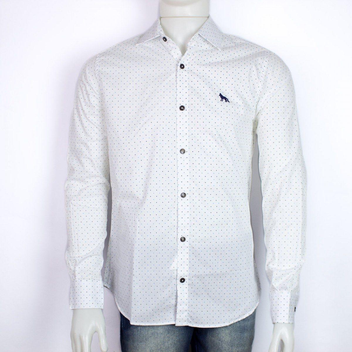 3a675db21b0d7 camisa social acostamento masculina 68101080. Carregando zoom.