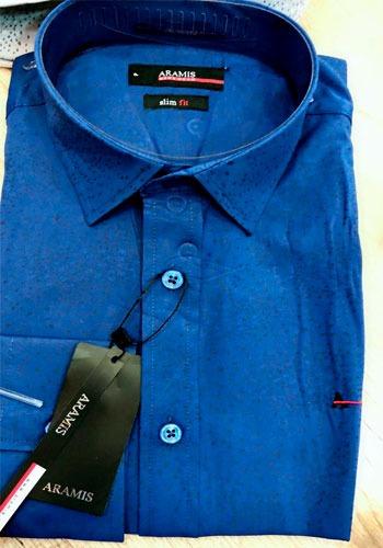 Camisa Social Aramis M.longa Bolinhas Slim Fit - R  149 5837d67f3a9b5