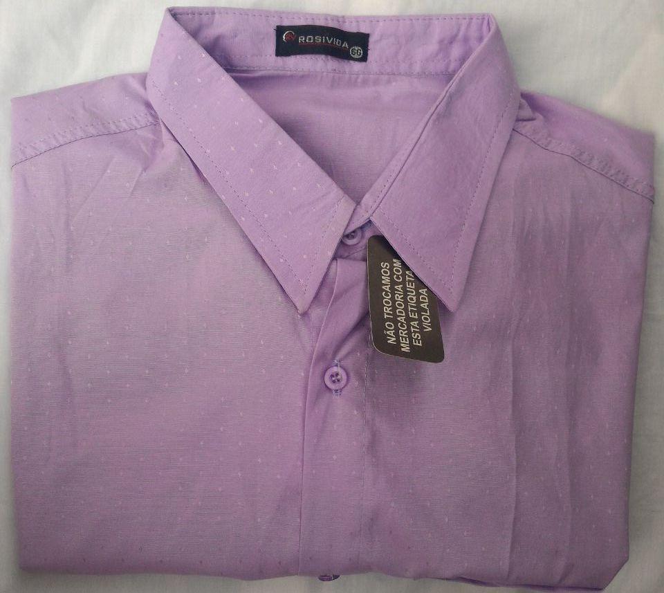13e43ca2c5 Camisa Social Barato De Boa Qualidade Oferta Kit Com 4 - R  137