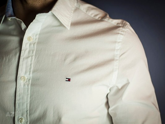 97281b4c7f Camisa Social Branca Tommy Hilfiger - Tam  P   M   G   Gg - R  299 ...