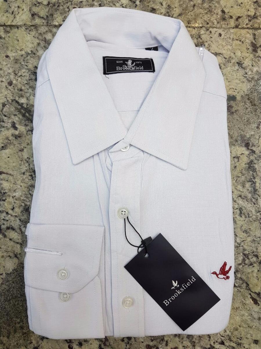 6eb017d35a1 camisa social brooksfield branca masculina frete grátis. Carregando zoom.