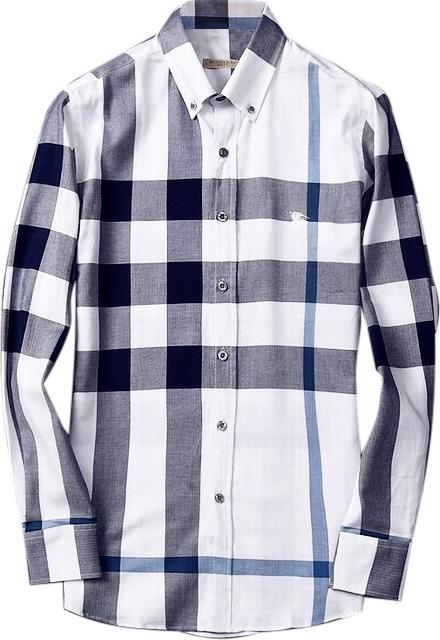 Camisa Social Burberry Masculina Branca Pronta Entrega - R  179 c76aa6632d637
