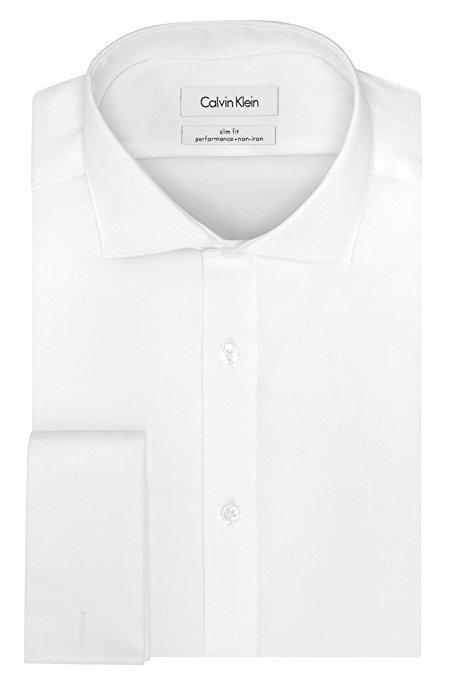 Camisa Social Calvin Klein Branca Slim Fit Frete Grátis - R  127,23 ... fb986d4e3d