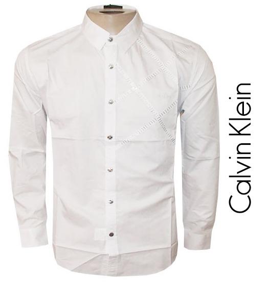 Camisa Social Calvin Klein Masculina Original (frete Grátis) - R ... b2b74b0c5e