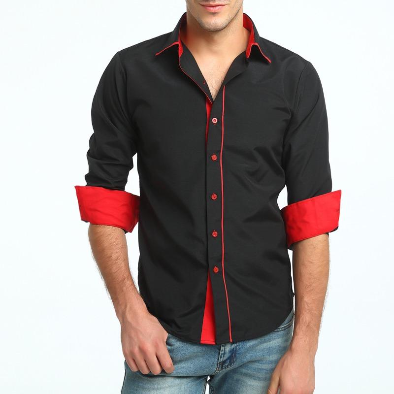 55d2a7d5e9 camisa social casual masculina slim fit manga comprida 3020. Carregando  zoom.