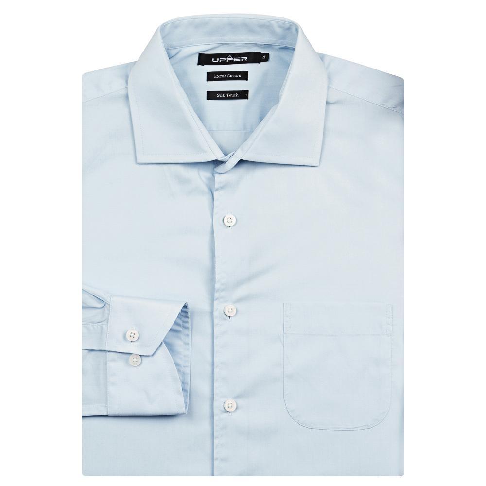 camisa social colombo masculina upper azul lisa. Carregando zoom. 334ad503b6f