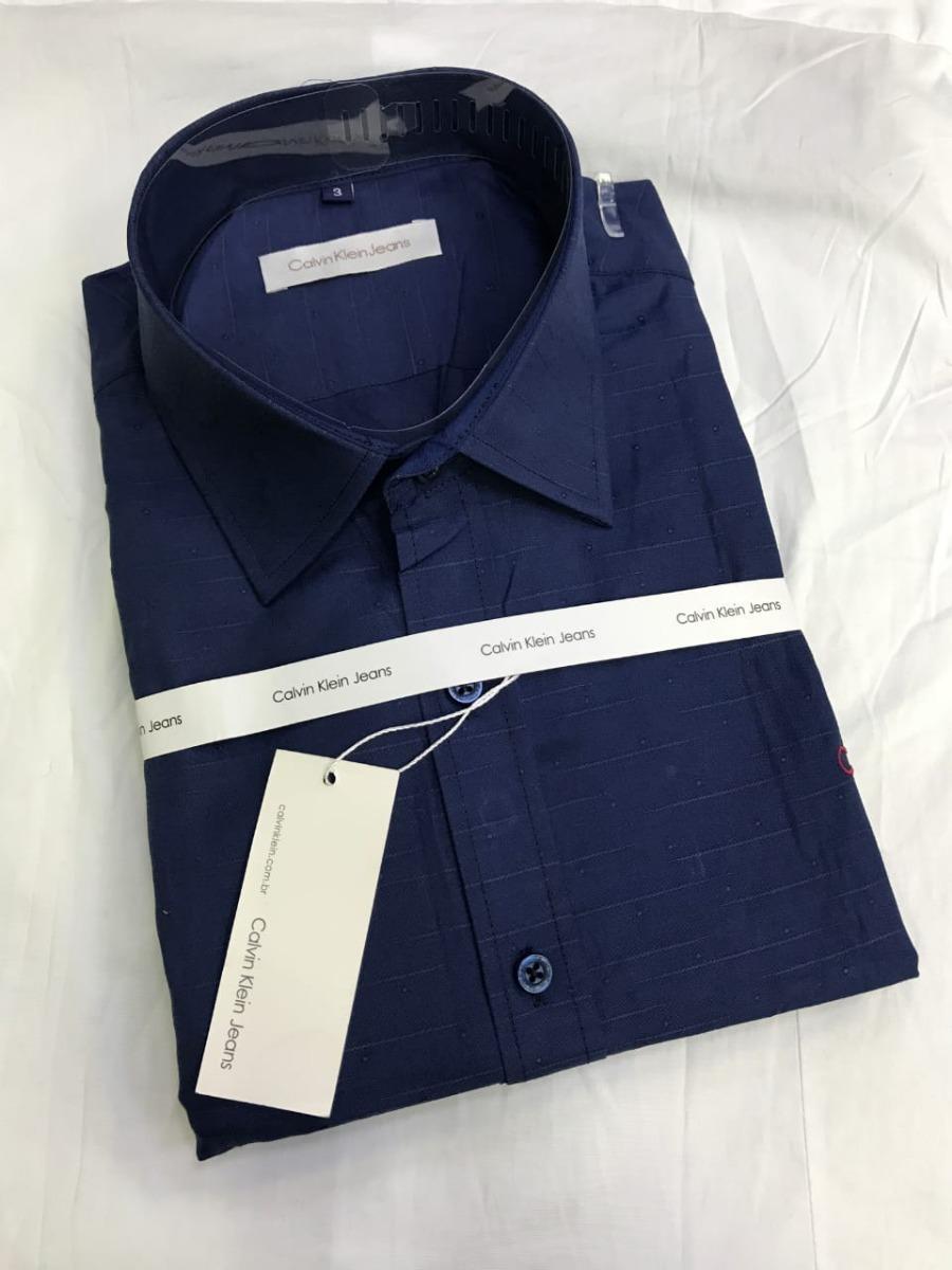 Camisa Social Estampada Manga Longa Slim Fit - R  149,90 em Mercado ... 4c0dfe7122