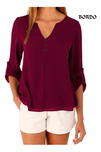 camisa social feminina blusa gola v mullet camisete luxo