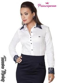 18c7c83ed Camisas Femininas Principessa - Calçados, Roupas e Bolsas no Mercado Livre  Brasil